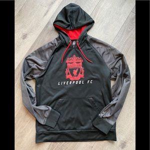 Majestic Liverpool Football Club Hoodie in Black
